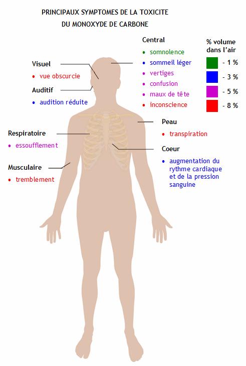 R action chimique monoxyde de carbone un danger silencieux mais mortel - Cheminee et monoxyde de carbone ...